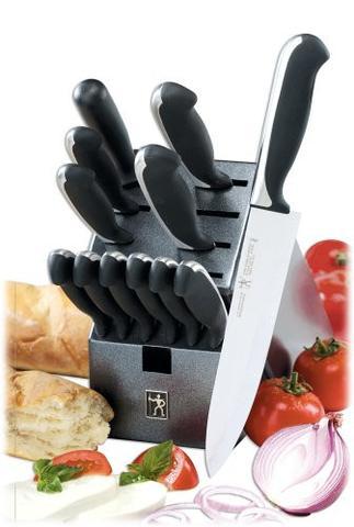 J.A. Henckels International Fine Edge Synergy 13-Pc. Cutlery Set Save $166