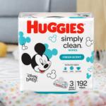 FREE Huggies Baby Wipe; Save $5.99