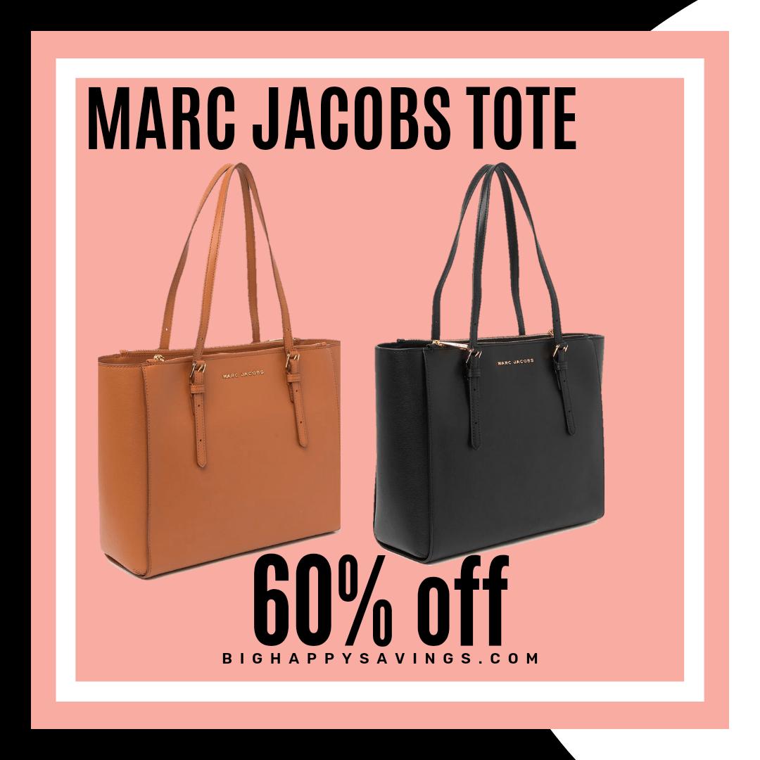 Big Happy Savings Mac Jacobs Leather Tote