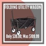 Big Happy Savings Folding Utility Wagon