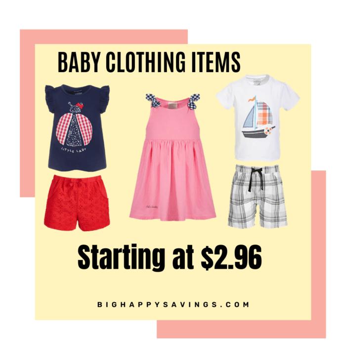Big Happy Savings Baby Clothing