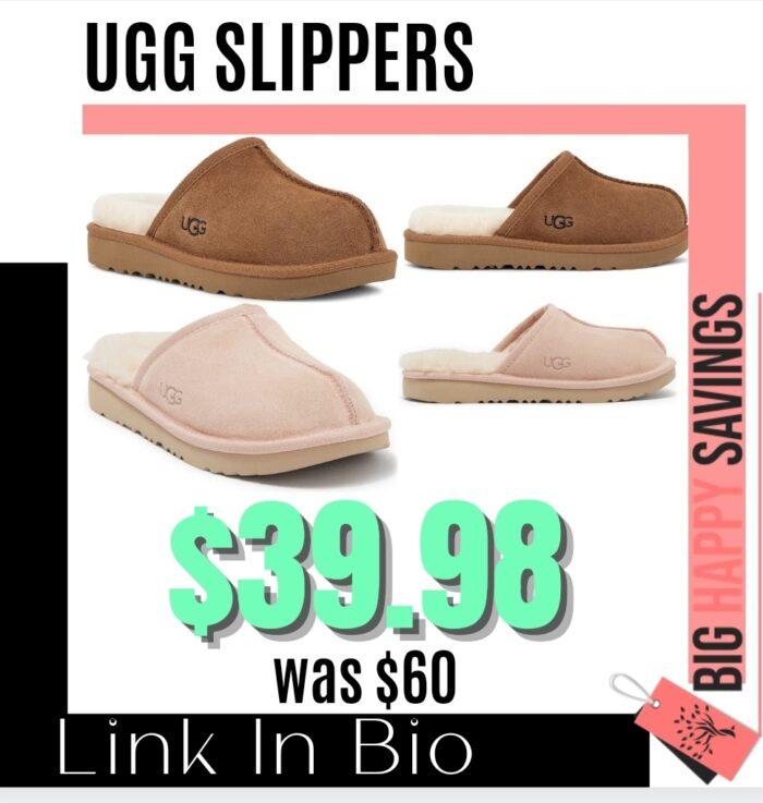 Big Happy Savings Ugg Slippers